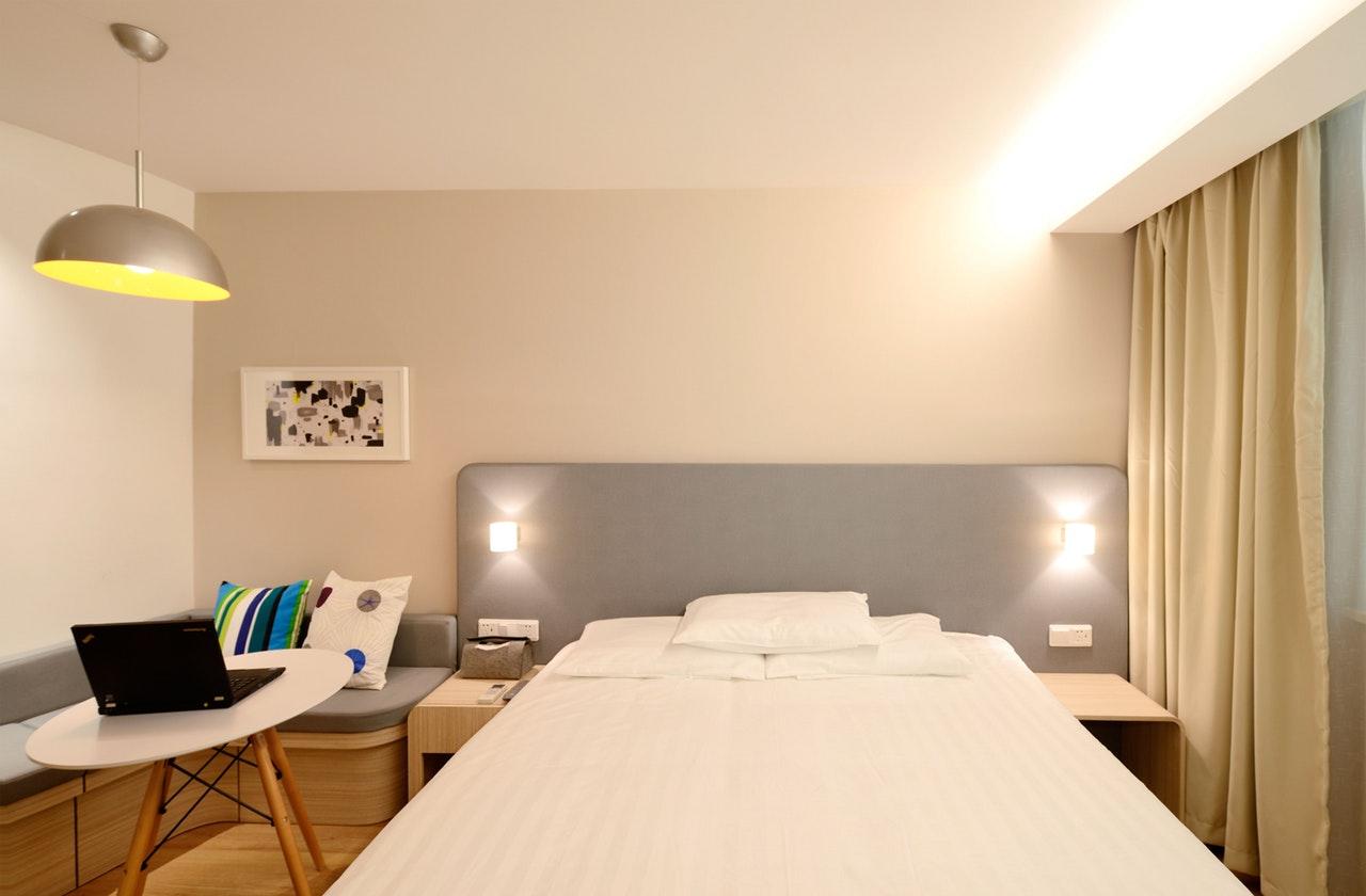 Nytt hotell med innbydende design